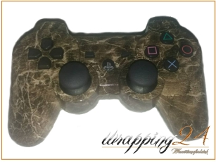 Sony PS 4 Controller veredelt - Holz Optik