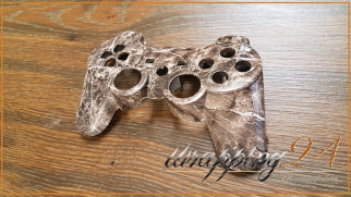 PlayStation Gamer Zocker Wood Design